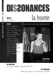 Revue Dissonances # 35 - La honte