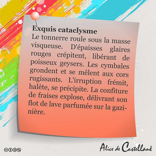 Exquis cataclysme